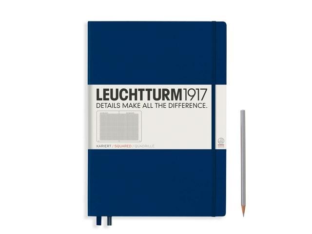 Leuchtturm1917 Hardcover Notitieboek, Master Classic, geruit
