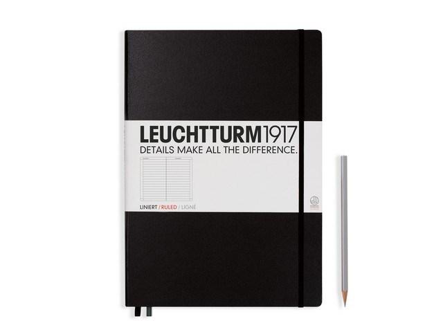 Leuchtturm1917 Hardcover Notitieboek, Master Classic, gelinieerd