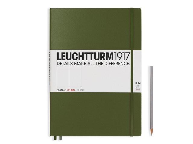 Leuchtturm1917 Hardcover Notitieboek,Master Slim, blanco