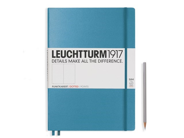 Leuchtturm1917 Hardcover Notitieboek,Master Slim, dotted