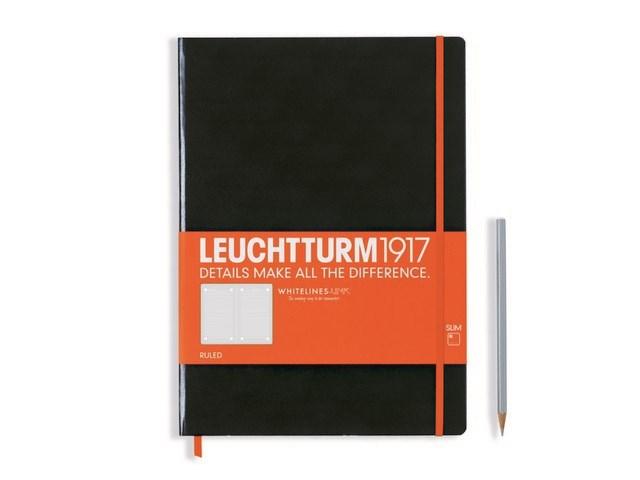 Leuchtturm 1917 + Whitelines Link notitieboek, Master Slim, dotted