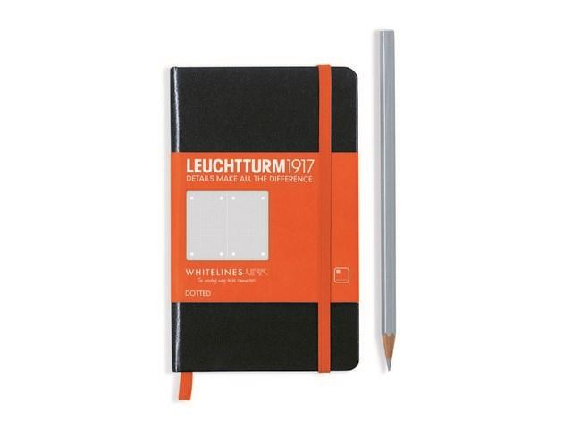 Leuchtturm 1917 + Whitelines Link notitieboek, Pocket, dotted