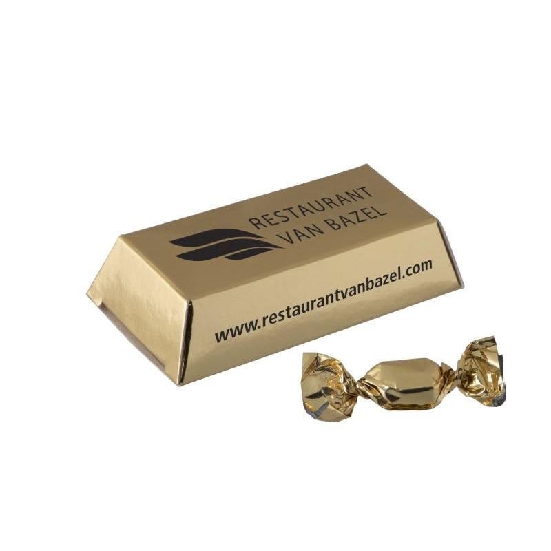 Mini goudstaafje met gouden zuurtjes