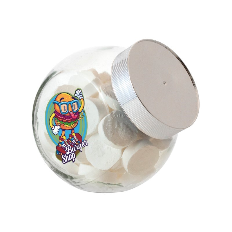 Kleine glazen potje 0,4 liter