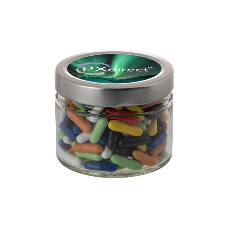 Glazen pot 0,22 liter