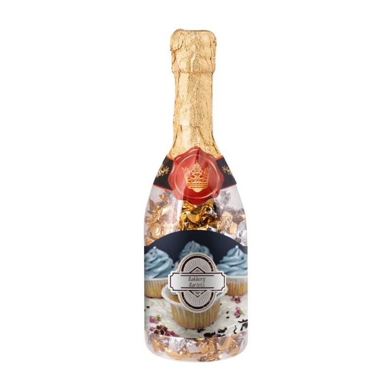Champagnefles bonbons