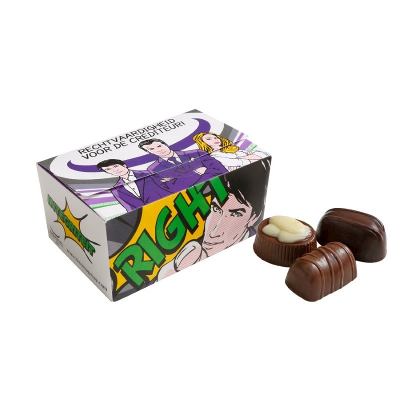 Ballotin Belgische bonbons