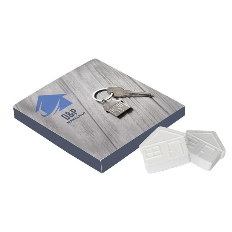 Vierkant doosje huismints