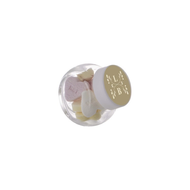 Micro glazen potje 50 ml