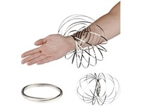 Agata anti-stress flow ring
