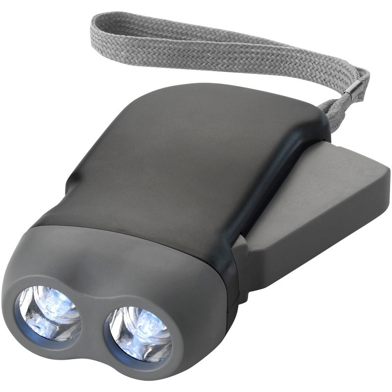 Virgo dual LED zaklamp met armbandje