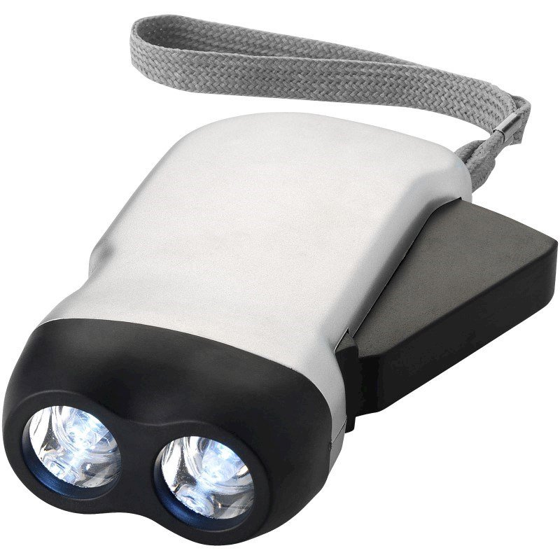 Virgo dual LED zaklamp met armbandje