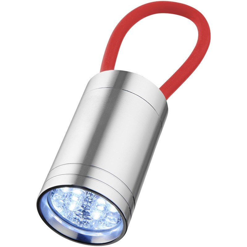 Vela 6-LED zaklamp met gloeibandje