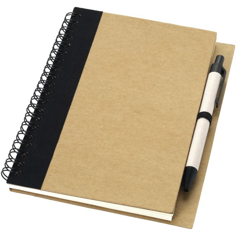 Priestly gerecycled notitieboek met pen