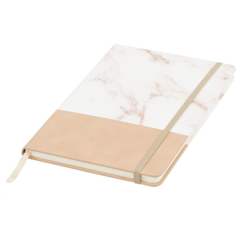 Two-tone A5 gemarmerd notitieboek