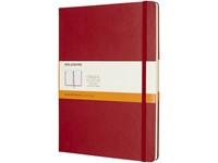 Classic XL hard cover notitieboek - gelinieerd