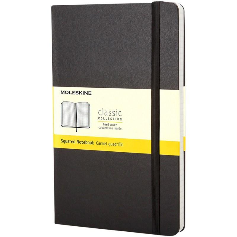 Classic PK hard cover notitieboek - ruitjes