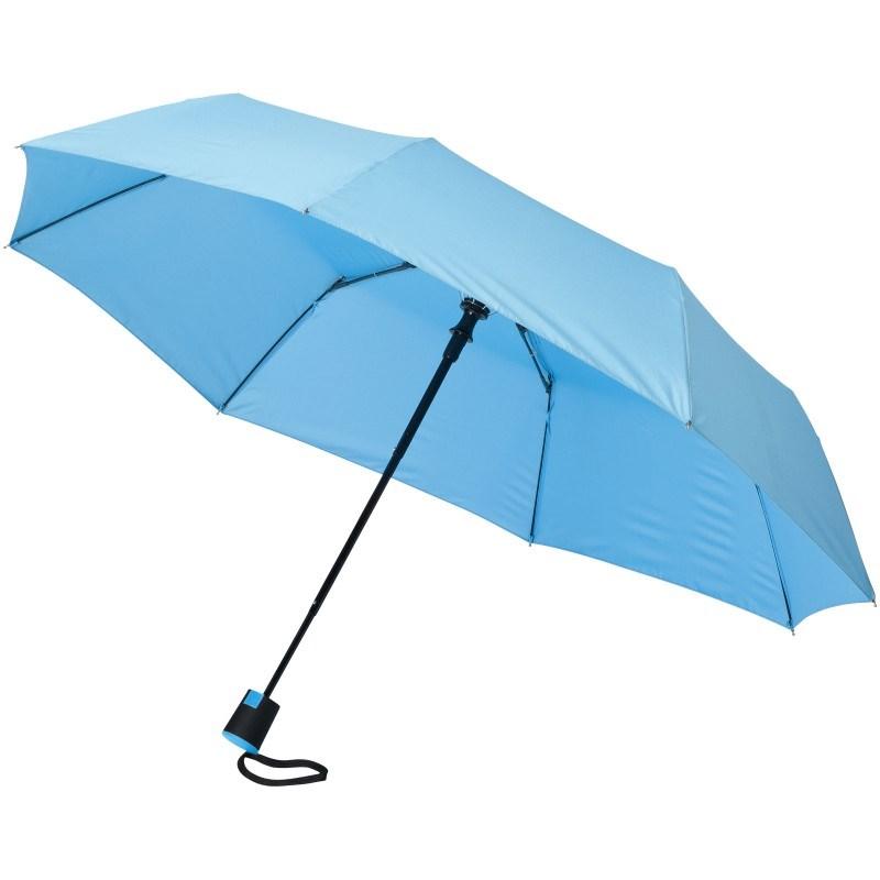 Wali 21'' opvouwbare automatische paraplu