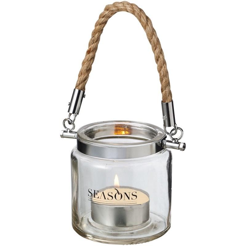 Solano lantaarn van glas