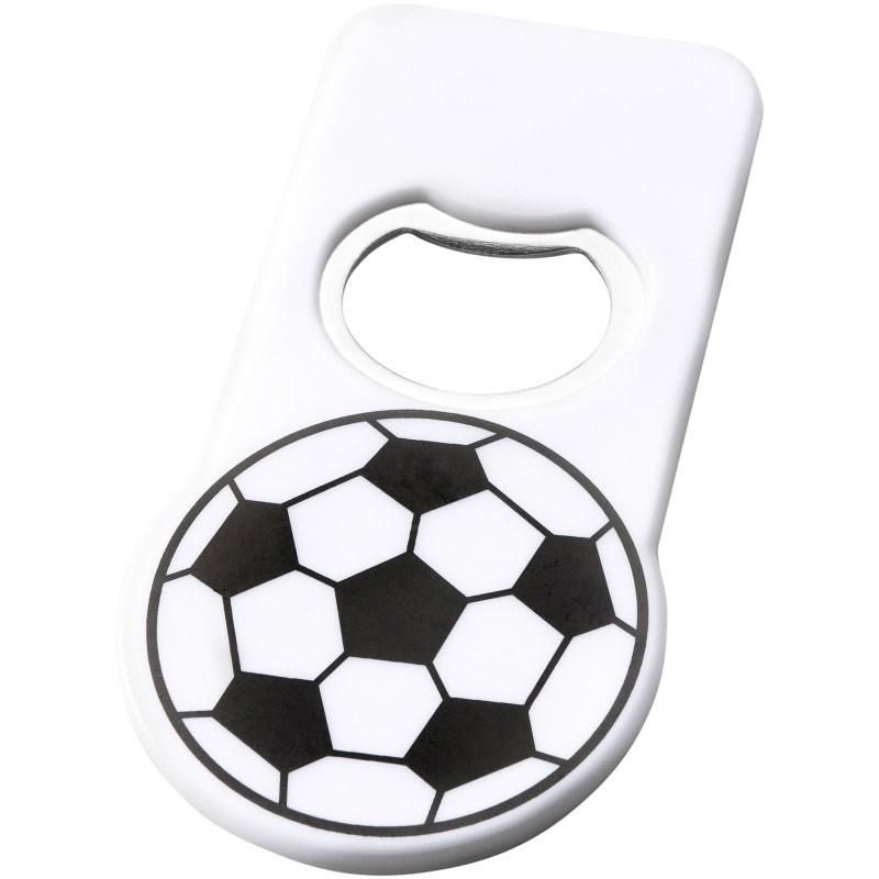 Niki voetbal flessenopener met magneet