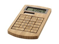 Eugene rekenmachine uit bamboe