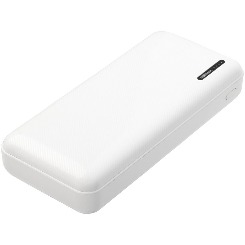 Compress 10.000 mAh powerbank met hoge dichtheid