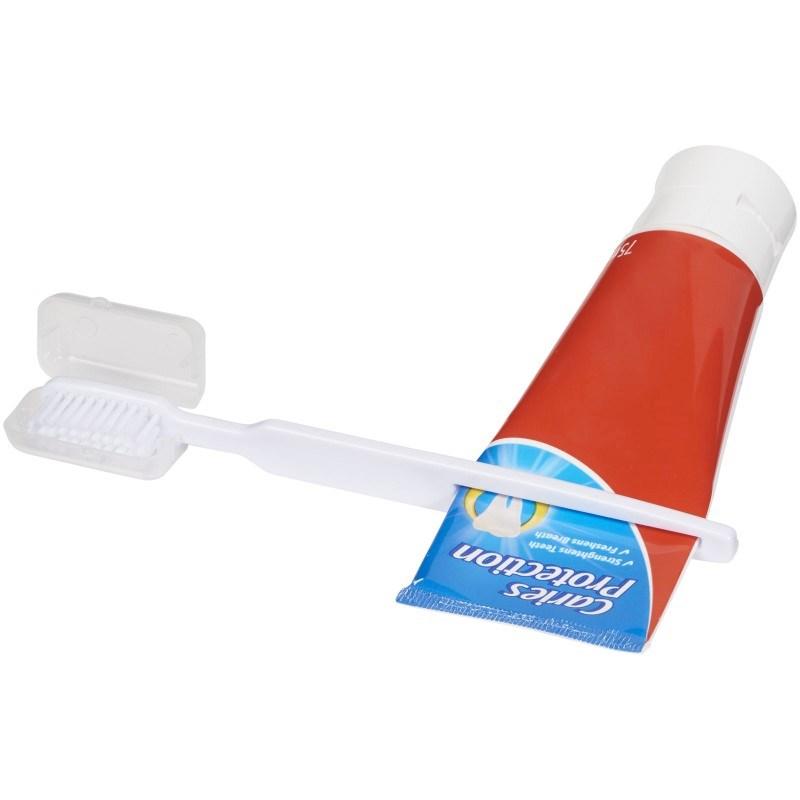 Dana tandenborstel met tandpasta-pusher