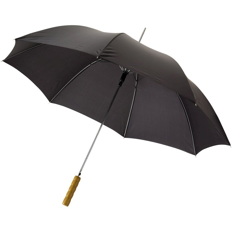 Lisa 23'' automatische paraplu met houten handvat