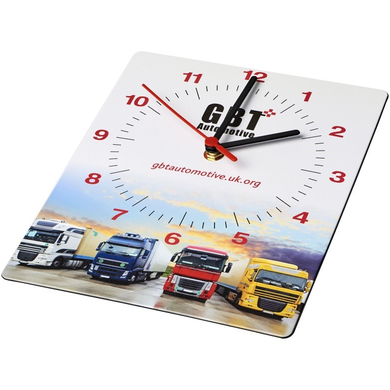 Brite-Clock® rechthoekige wandklok