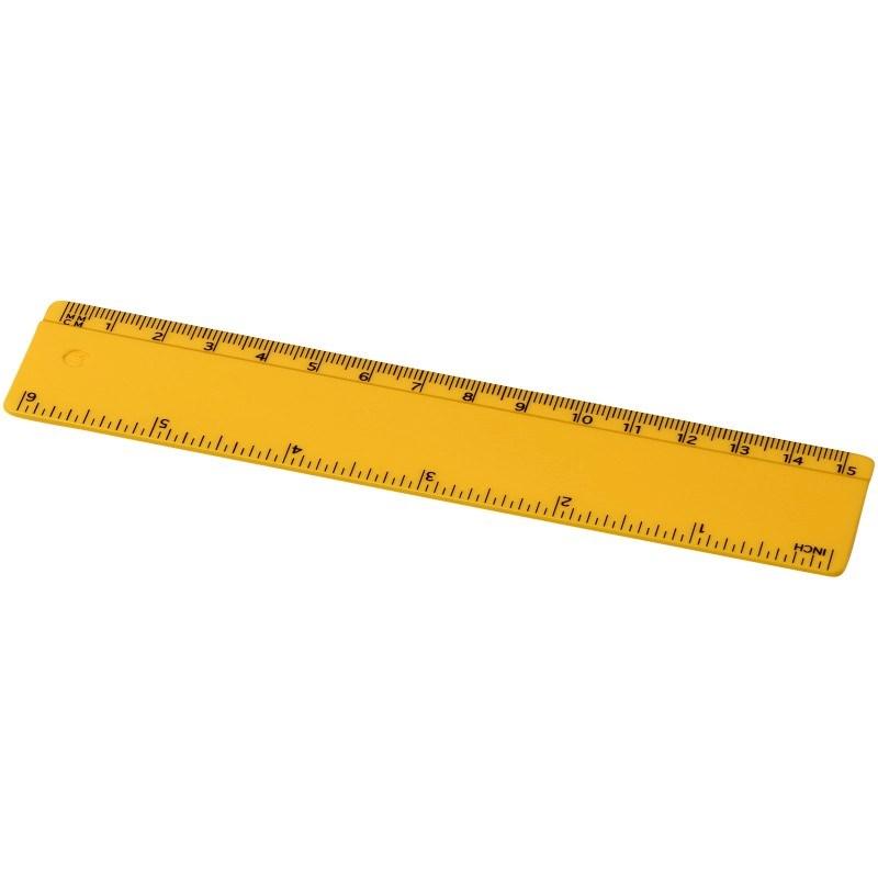 Renzo 15 cm kunststof liniaal