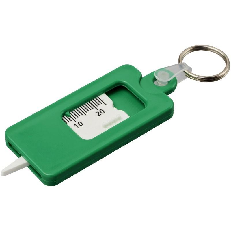 Kym sleutelhanger met bandenprofielmeter