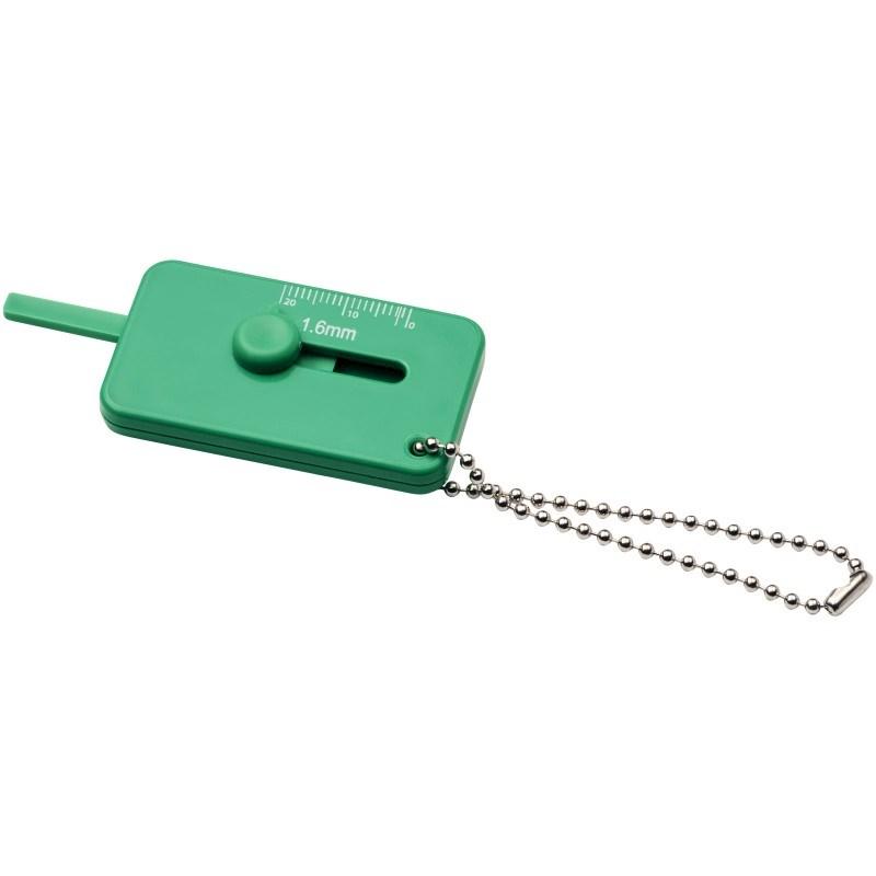 Kepi sleutelhanger met bandenprofielmeter