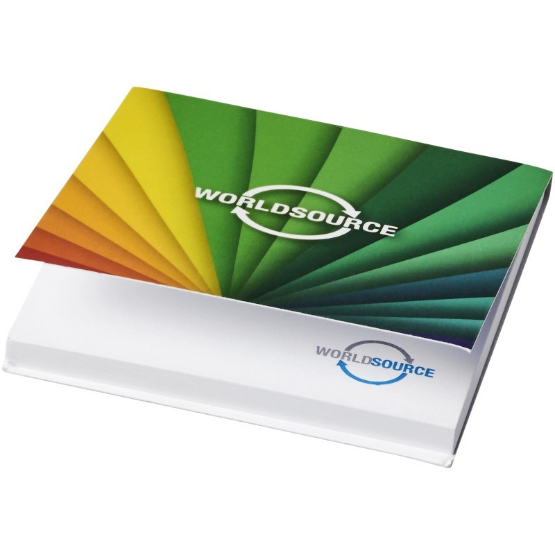 Sticky-Mate® soft cover sticky notes 75x75