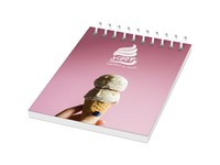 Desk-Mate® A7 wire-o notitieboek met PP-omslag