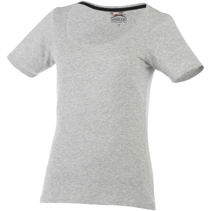 Bosey dames T-shirt korte mouwen, lage ronde hals