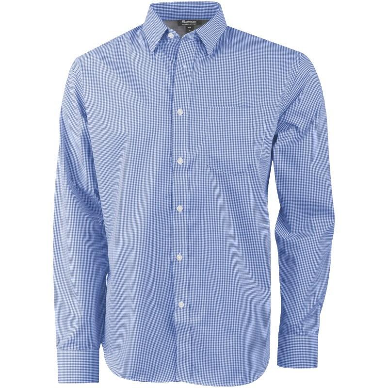 Net heren overhemd met lange mouwen