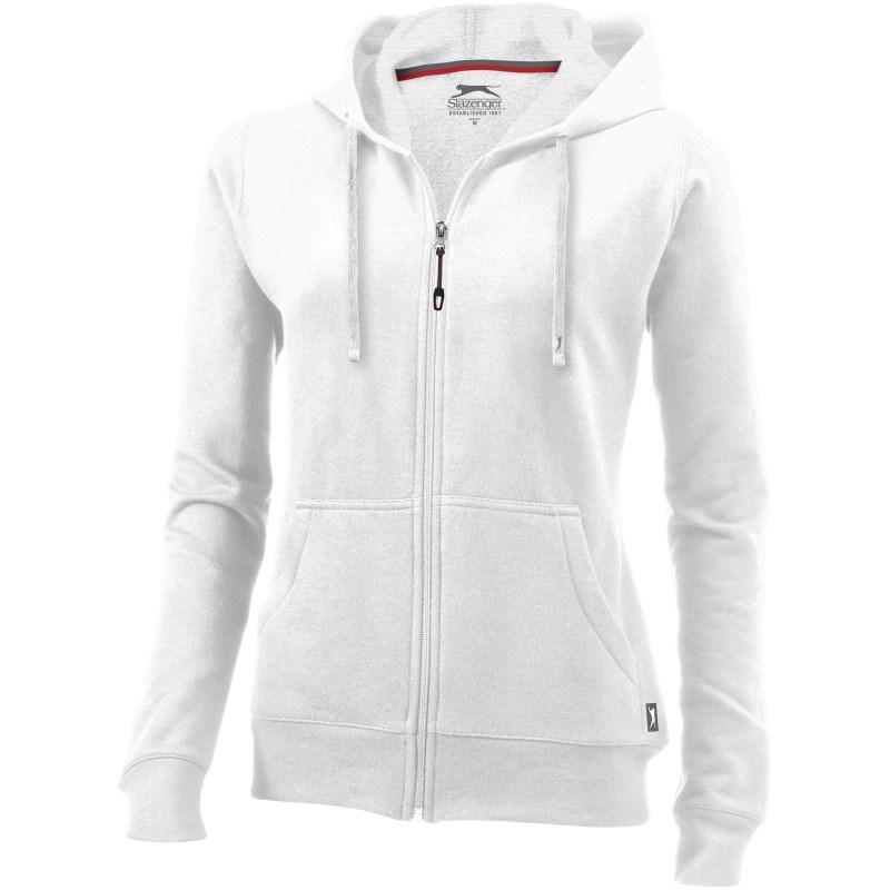 Open dames hoodie met ritssluiting
