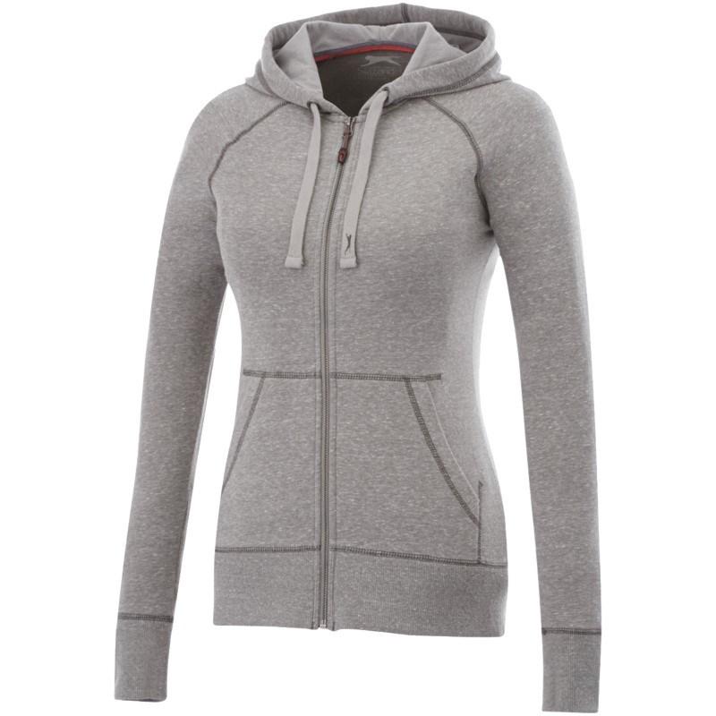 Groundie dames hoodie met ritssluiting