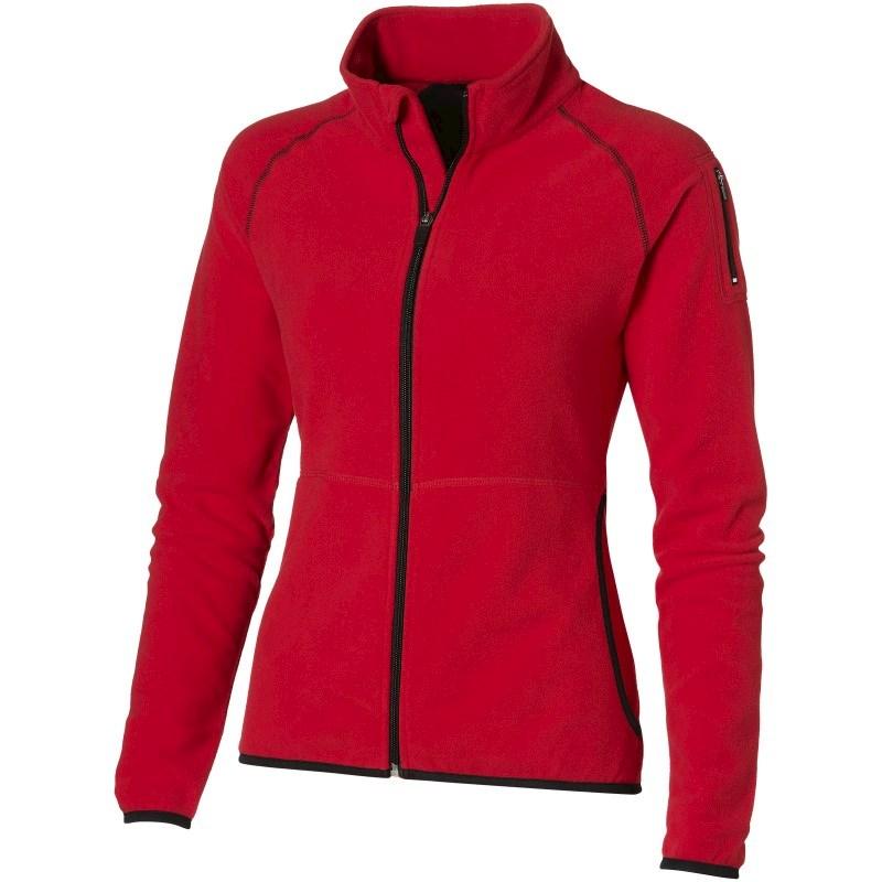 Drop Shot fleece dames jas met ritssluiting