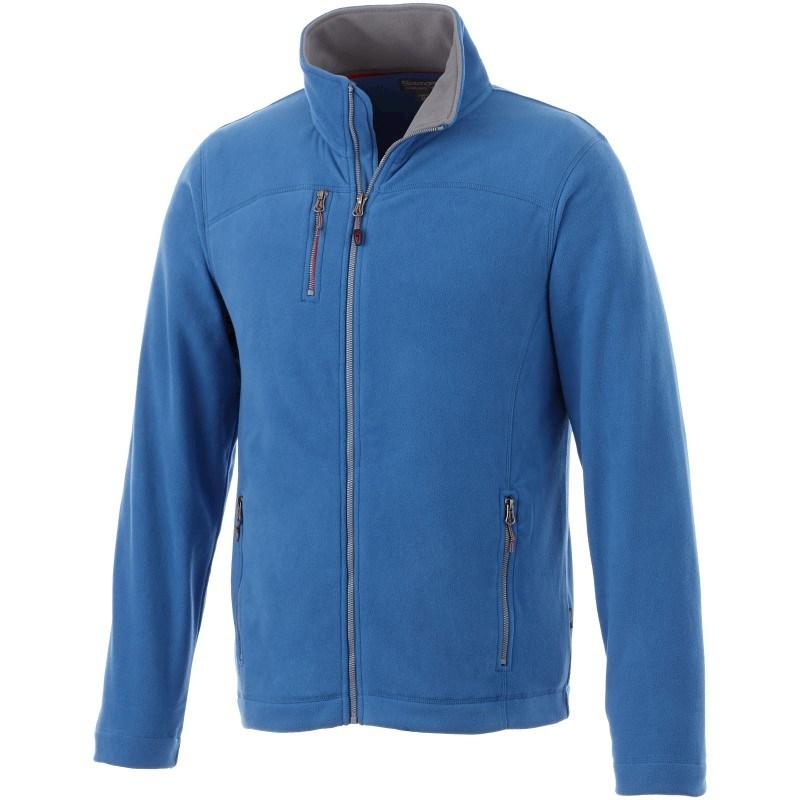 Pitch fleece heren jas met ritssluiting
