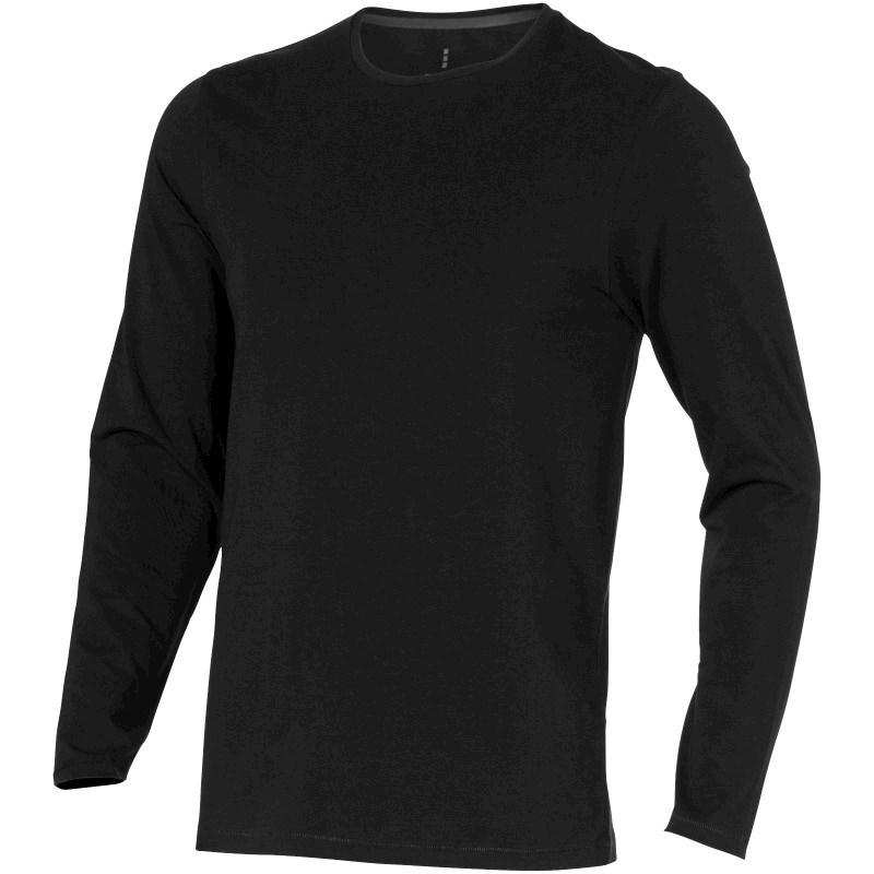 Ponoka organisch heren T-shirt lange mouwen