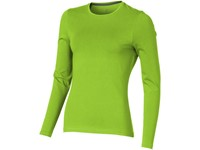 Ponoka biologisch dames t-shirt met lange mouwen