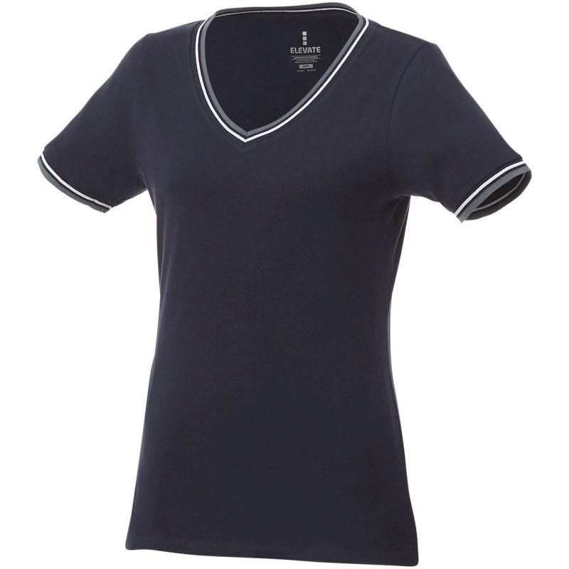 Elbert piqué dames t-shirt met korte mouwen