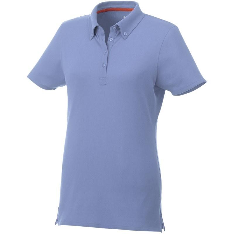 Atkinson button-down dames polo met korte mouwen