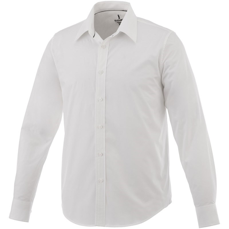 Hamell stretch heren overhemd met lange mouwen