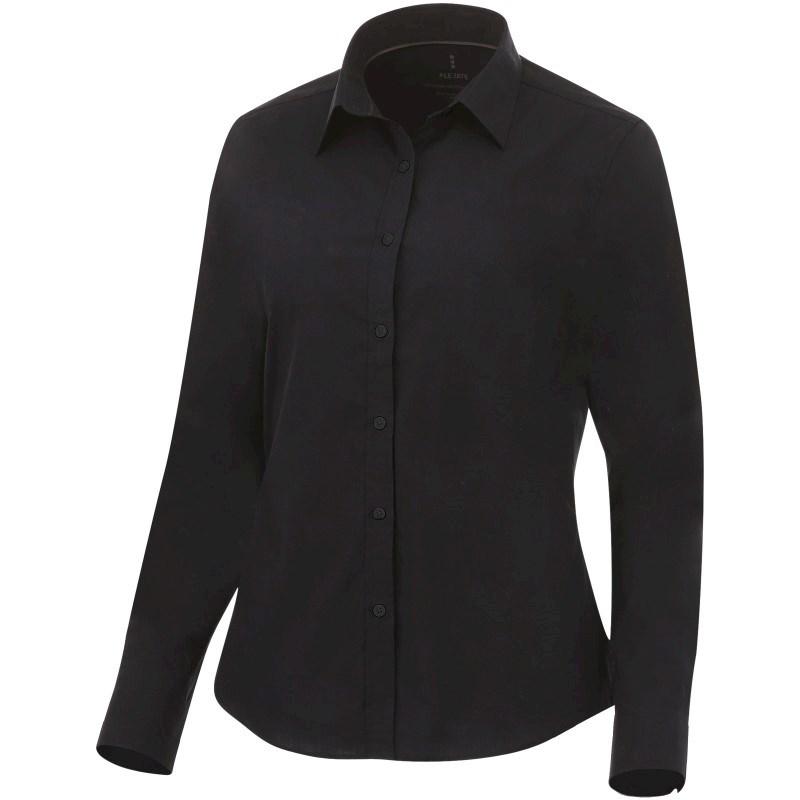 Hamell stretch dames blouse met lange mouwen