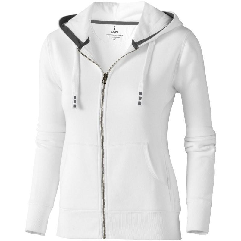 Arora dames hoodie met ritssluiting