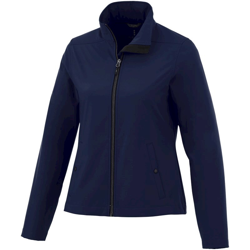 Karmine private label softshell dames jas