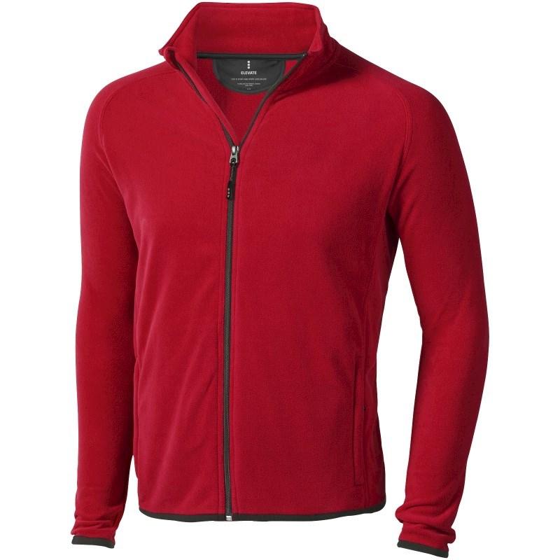 Brossard fleece heren jas met ritssluiting