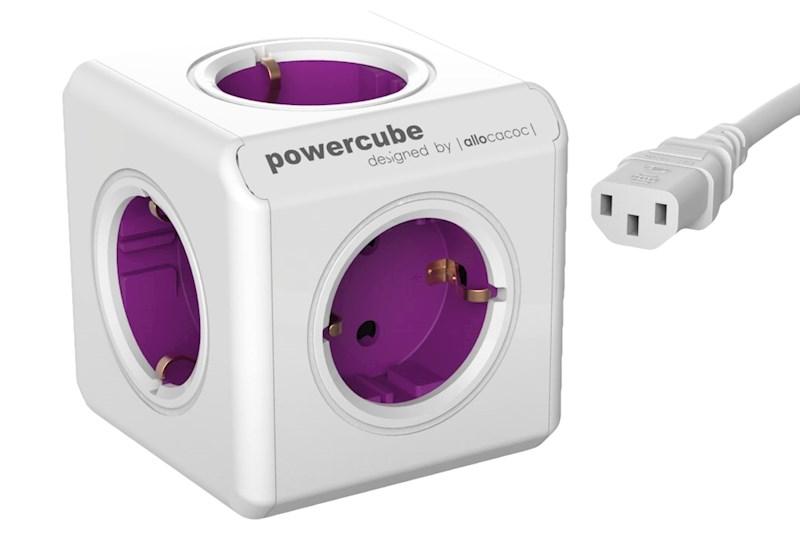 PowerCube ReWirable + 3x plug + 1mtr IEC EU cable